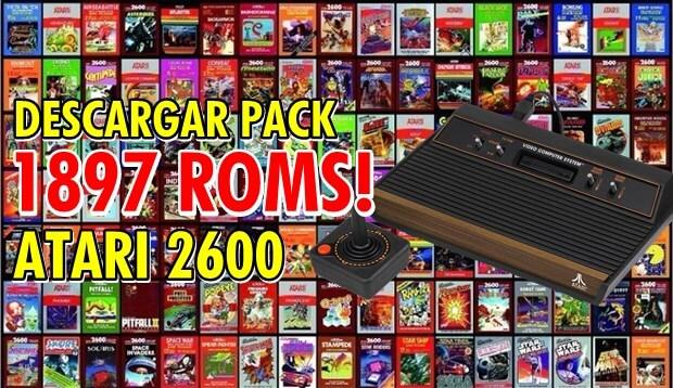 pack de juegos atari2600